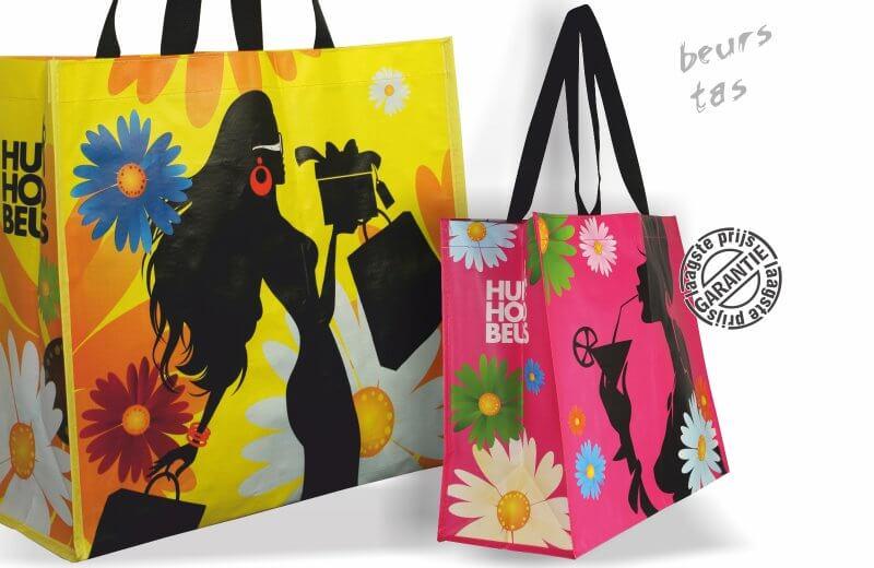 b83f0b1851a Shopper Huishoudbeurs Yellow - UTS Bags